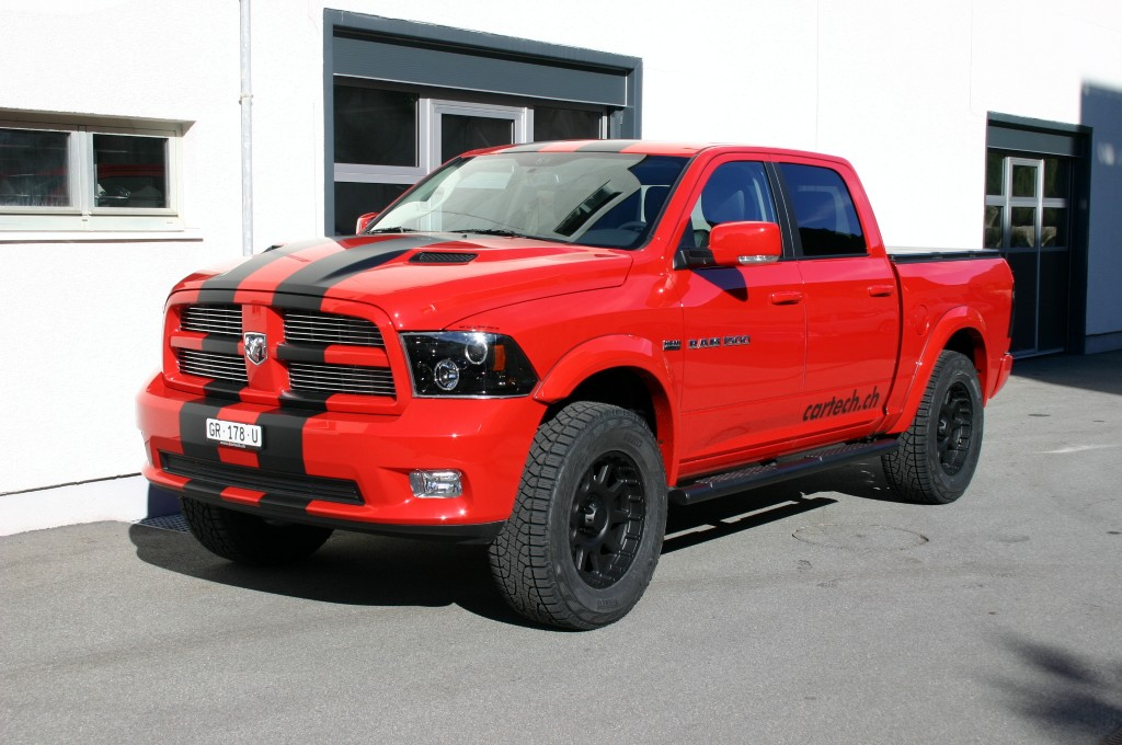 "2017 Dodge Ram >> Dodge RAM 1500 CrewCab Sport ""cartech-edition"" rot ..."