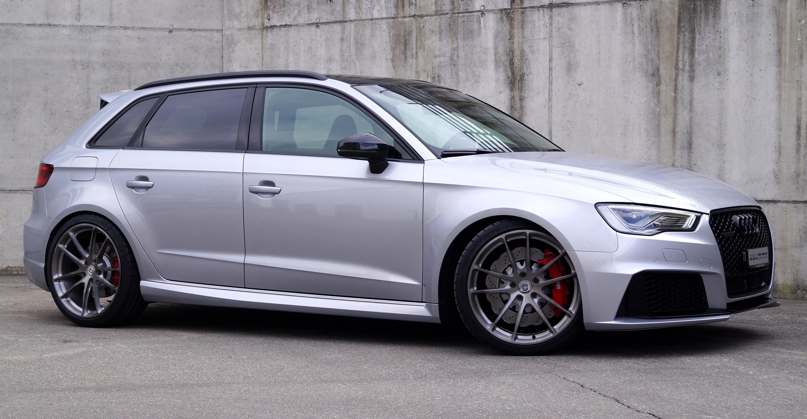 Audi Rs3 Mit Hre Felgensatz Und H Amp R Fahrwerk Cartech Ch Autotechnik Ag Chur