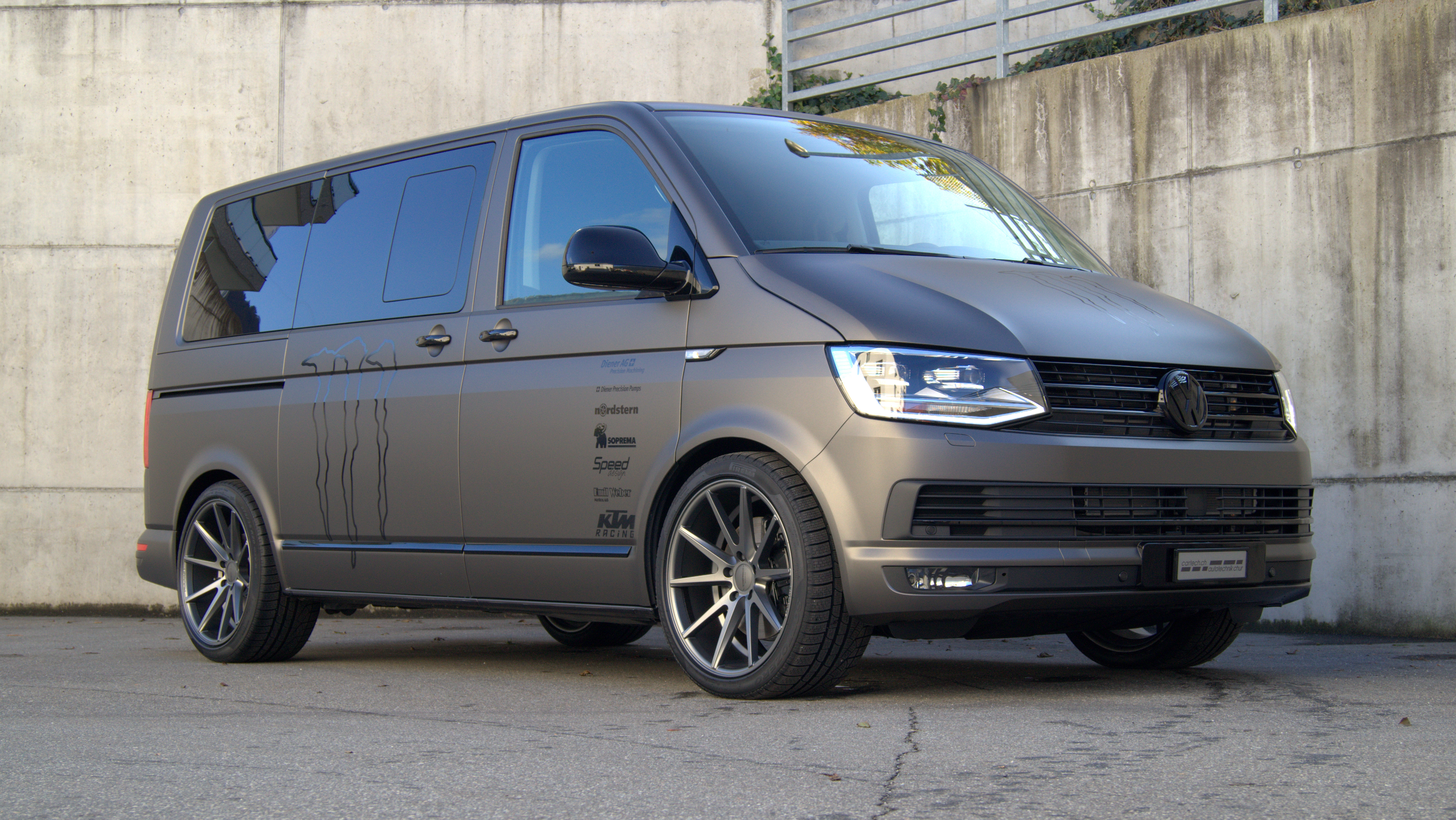 vw t6 multivan by cartech autotechnik ag chur. Black Bedroom Furniture Sets. Home Design Ideas